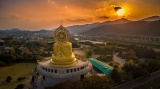 Korea's Biggest Golden Buddha